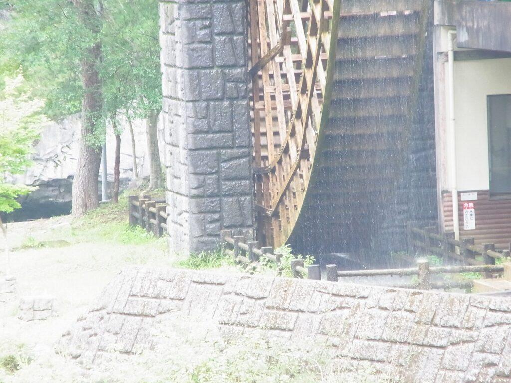 佐伯市本匠の大水車